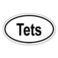 TETS Oval Decal