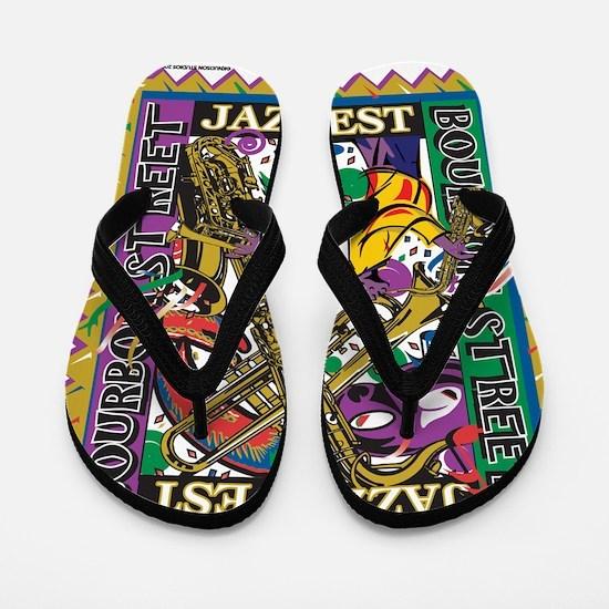 Jazz Fest Flip Flops