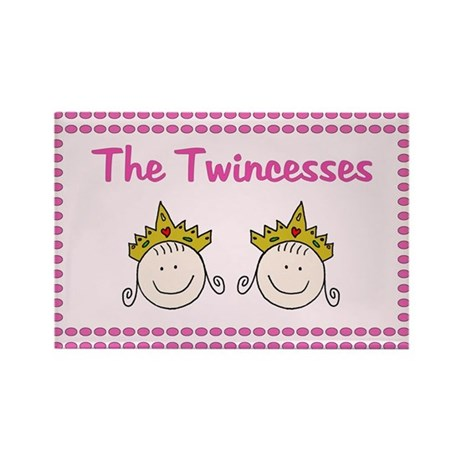 The Twincess Rectangle Magnet