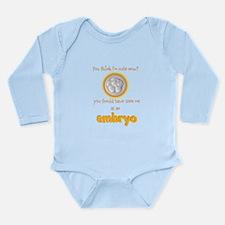 Cute IVF Embryo Body Suit