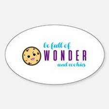 Wonder and Cookies Decal