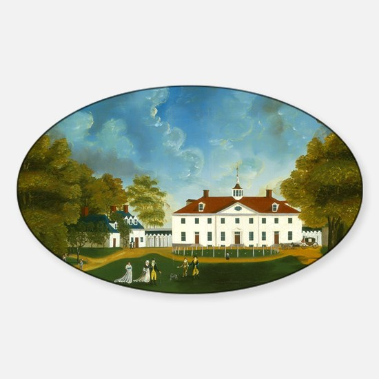 A View of Mount Vernon Decal