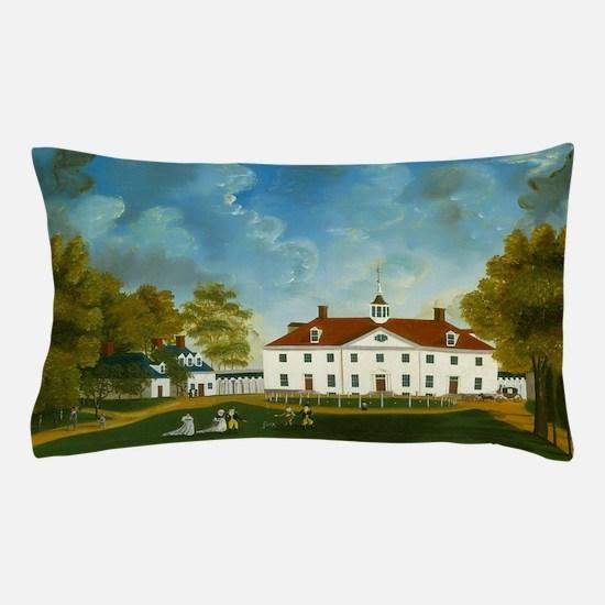 A View of Mount Vernon Pillow Case