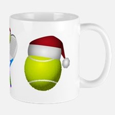Christmas Tennis Mugs