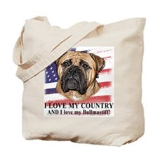 I Love My Country . . . Tote Bag