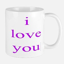 315. i love you..[purple] Mug