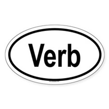VERB Oval Decal