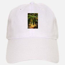 long yellow flowers up close in garden Baseball Baseball Cap