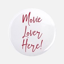"""Movie Lover 3.5"""" Button (100 pack)"""