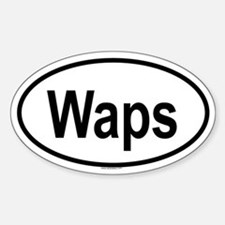 WAPS Oval Decal