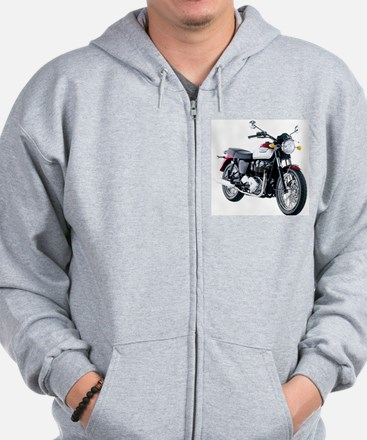 Triumph Bonneville White/Red Sweatshirt