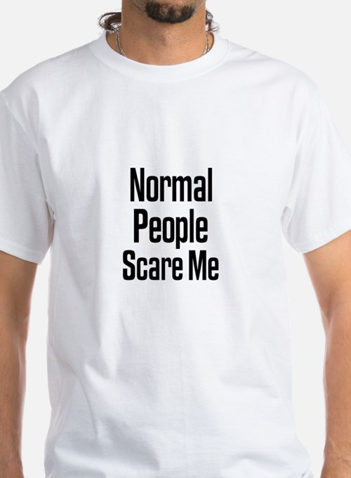 Normal People Scare Me Ash Grey T-Shirt