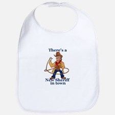 Trump New Sheriff 2017 Baby Bib