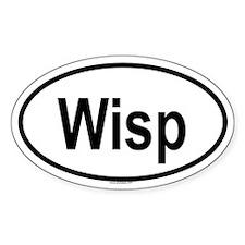 WISP Oval Decal