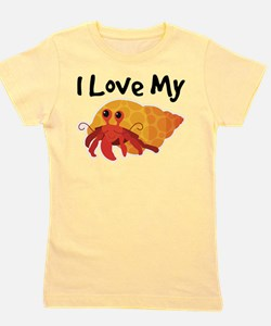 I Love My Hermit Crab T-Shirt