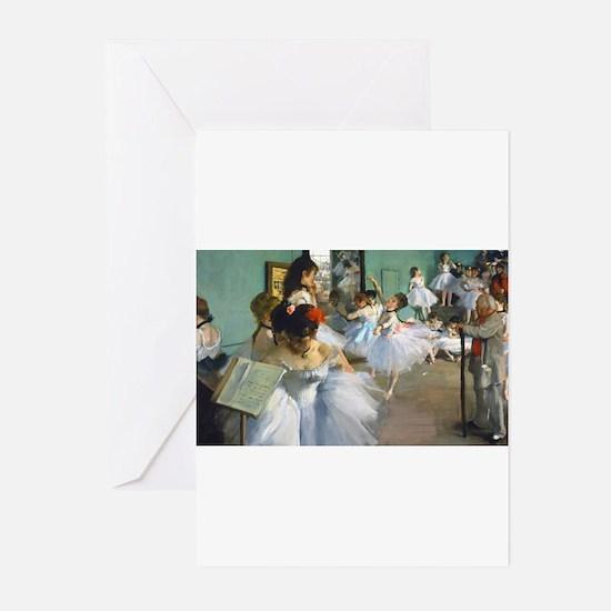 Bag Degas DanceC Greeting Cards