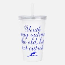 Wasted Youth Acrylic Double-wall Tumbler