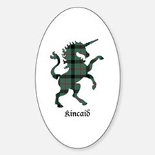 Unicorn - Kincaid Sticker (Oval)