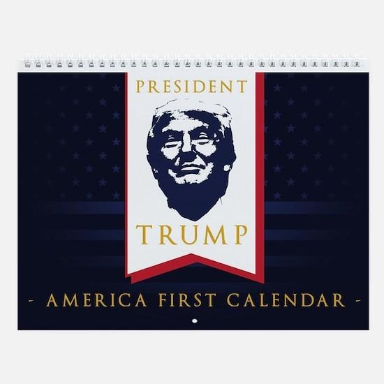 President Donald Trump Wall Calendar