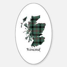 Map - Kincaid Sticker (Oval)
