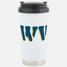 Unique West virginia Travel Mug