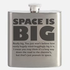 Cute Hitchhikers Flask
