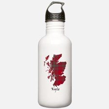 Map - Kyle Sports Water Bottle