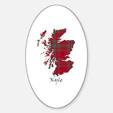 Map - Kyle Sticker (Oval)
