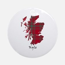 Map - Kyle Ornament (Round)
