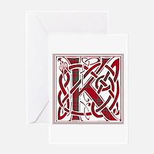 Monogram - Kyle Greeting Card