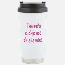Unique Wine Travel Mug
