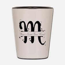 Monogram M Shot Glass