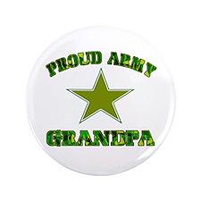"""Proud Army Grandpa 3.5"""" Button"""