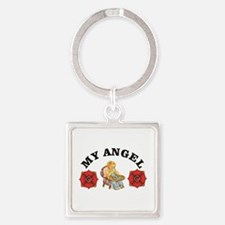 heavens my angel Keychains