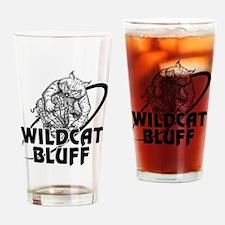 WC Bluff Cat Basket Drinking Glass