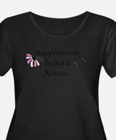 Happiness Is Nonna Plus Size T-Shirt