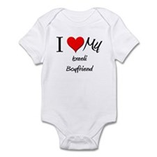 I Love My Israeli Boyfriend Infant Bodysuit