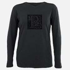 Renaissance Design Cloister Alphabet Initi T-Shirt