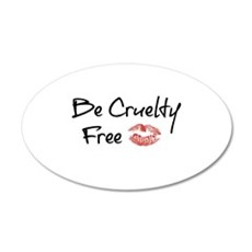 Be Cruelty Free Wall Decal