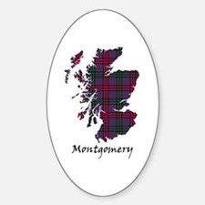 Map - Montgomery Decal
