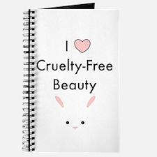 I love cruelty free beauty Journal