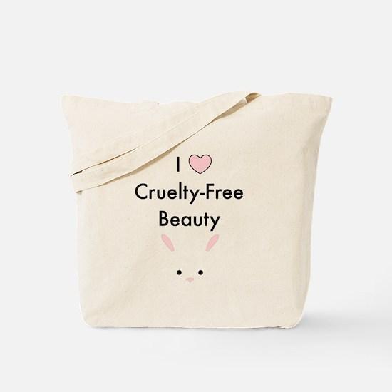 I love cruelty free beauty Tote Bag