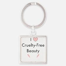 I love cruelty free beauty Keychains
