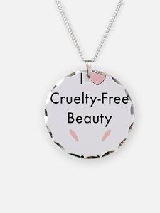 I love cruelty free beauty Necklace