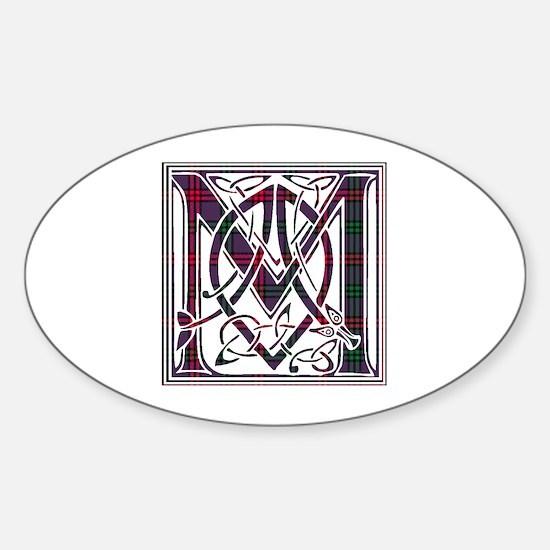 Monogram - Montgomery Sticker (Oval)
