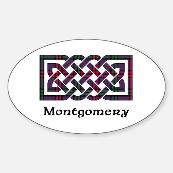 Knot - Montgomery Sticker (Oval)