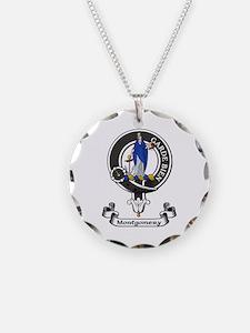 Badge - Montgomery Necklace Circle Charm