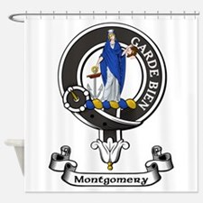 Badge - Montgomery Shower Curtain