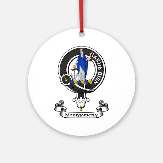 Badge - Montgomery Ornament (Round)
