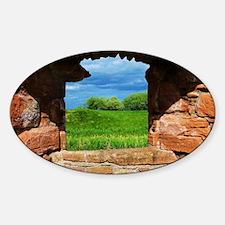 Unique Scotland window Sticker (Oval)